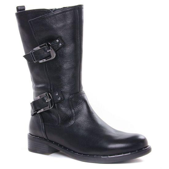Bottes Regarde Le Ciel Roxana-21 Black, vue principale de la chaussure femme