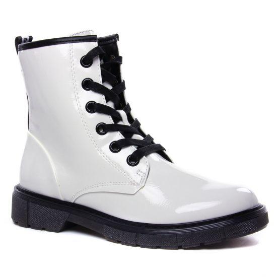 Bottines Et Boots Marco Tozzi 25282 White Pat Comb, vue principale de la chaussure femme