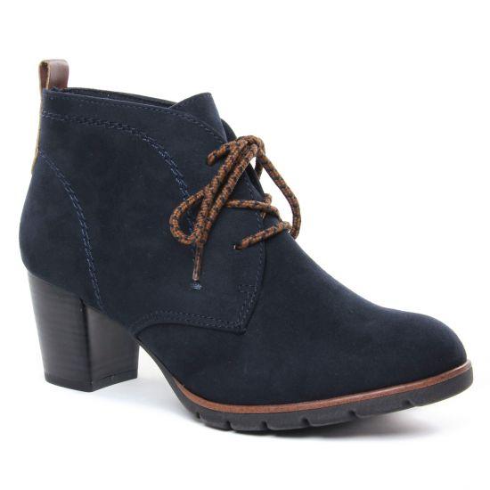 Bottines Et Boots Marco Tozzi 25107 Dk Navy Comb, vue principale de la chaussure femme