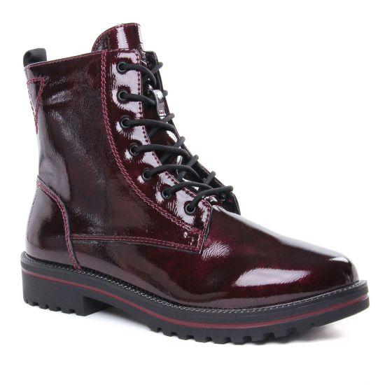 Bottines Et Boots Tamaris 25209 Bordeaux Pat, vue principale de la chaussure femme