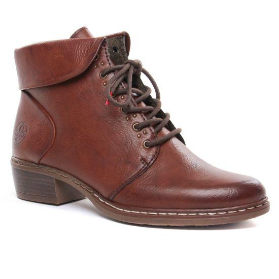 Bottines Et Boots Rieker Y0801-24 Eagle, vue principale de la chaussure femme