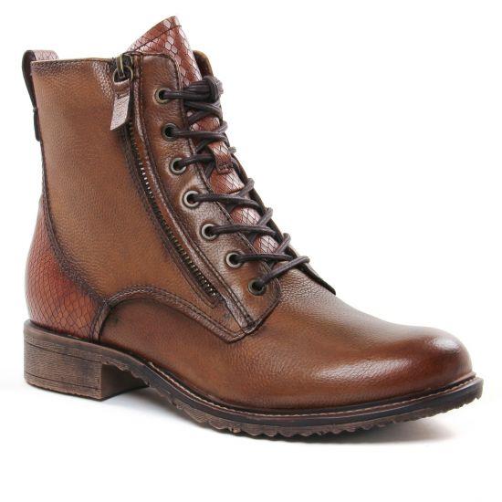 Bottines Et Boots Tamaris 25211 Cognac Snake, vue principale de la chaussure femme