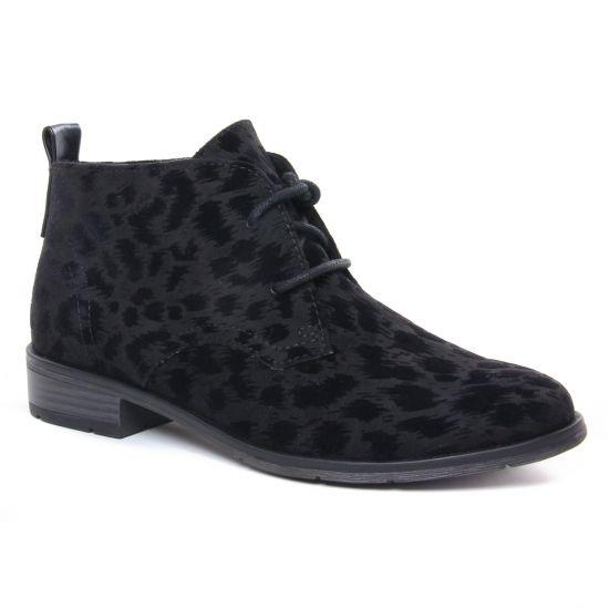 Bottines Et Boots Marco Tozzi 25101 Black Str, vue principale de la chaussure femme