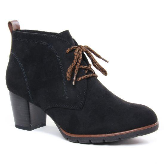 Bottines Et Boots Marco Tozzi 25107 Black Comb, vue principale de la chaussure femme
