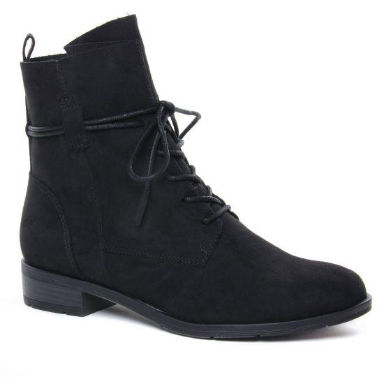 Bottines Et Boots Marco Tozzi 25112 Black, vue principale de la chaussure femme