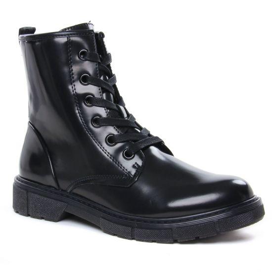 Bottines Et Boots Marco Tozzi 25282 Black Brush, vue principale de la chaussure femme