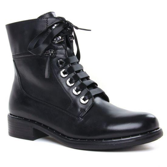 Bottines Et Boots Regarde Le Ciel Roxana-04 Black, vue principale de la chaussure femme