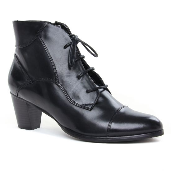 Bottines Et Boots Regarde Le Ciel Sonia-123 Black, vue principale de la chaussure femme