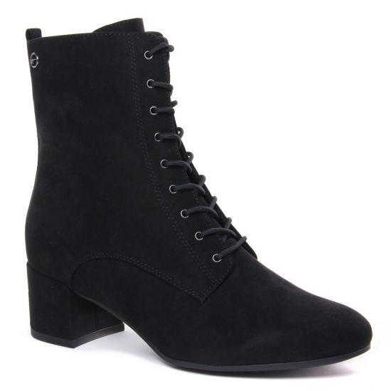 Bottines Et Boots Tamaris 25102 Black, vue principale de la chaussure femme