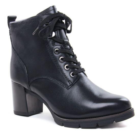 Bottines Et Boots Tamaris 25103 Black, vue principale de la chaussure femme