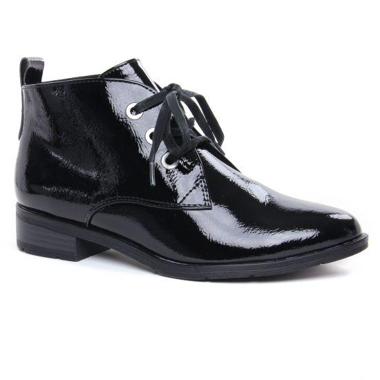 Bottines Et Boots Marco Tozzi 25120 Black Patent, vue principale de la chaussure femme
