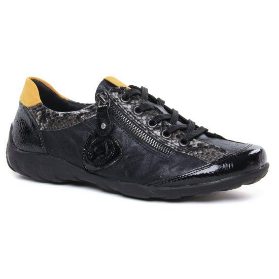 Chaussures À Lacets Remonte R3415-02 Black, vue principale de la chaussure femme