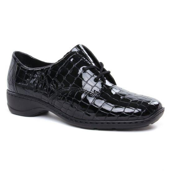 Chaussures À Lacets Rieker 58310-00 Schwarz, vue principale de la chaussure femme
