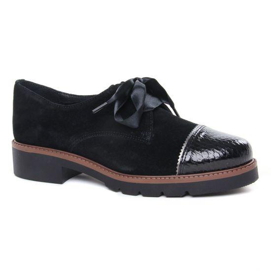 Chaussures À Lacets Scarlatine 9411Zc Noir, vue principale de la chaussure femme