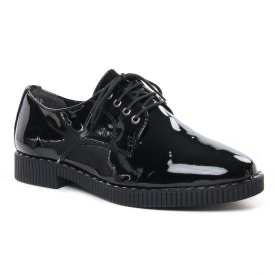 Chaussures À Lacets Tamaris 23205 Black Patent, vue principale de la chaussure femme