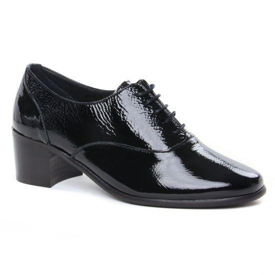 Chaussures À Lacets Scarlatine 33098Ba Noir, vue principale de la chaussure femme