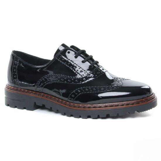 Chaussures À Lacets Rieker 54812-00 Schwarz, vue principale de la chaussure femme