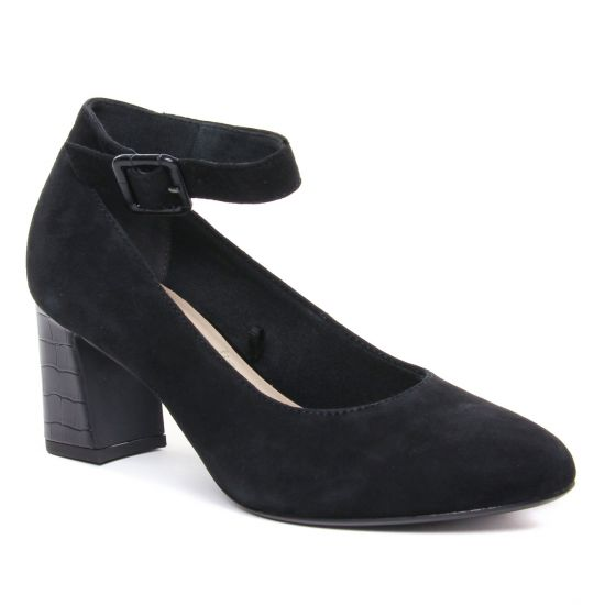 Escarpins Tamaris 24409 Black, vue principale de la chaussure femme