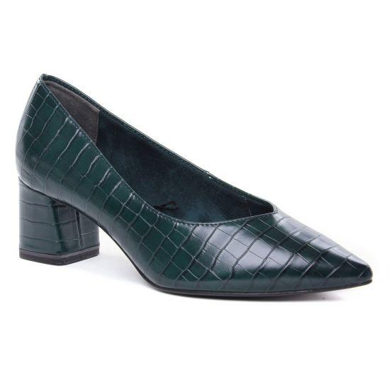 Escarpins Tamaris 22420 Bottle Croco, vue principale de la chaussure femme