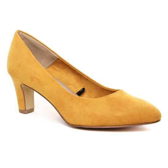 Escarpins Tamaris 22418 Mustard, vue principale de la chaussure femme