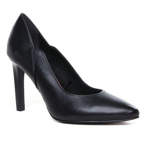 Escarpins Marco Tozzi 22406 Black Antic, vue principale de la chaussure femme