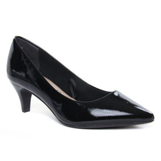 Escarpins Tamaris 22495 Black Patent, vue principale de la chaussure femme