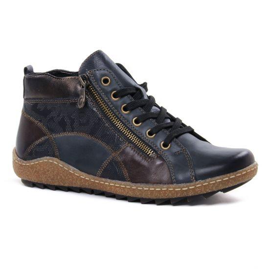 Bottines Et Boots Remonte R4790-14 Lake, vue principale de la chaussure femme