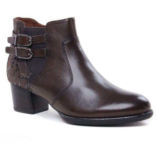 Bottines Et Boots Tamaris 25361 Mocca, vue principale de la chaussure femme