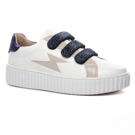 Tennis Et Baskets Mode Vanessa Wu Bk 2183 Bleu, vue principale de la chaussure femme