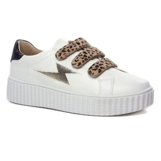 Tennis Et Baskets Mode Vanessa Wu Bk 2193 Blanc, vue principale de la chaussure femme