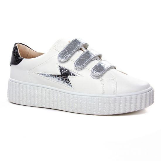 Tennis Et Baskets Mode Vanessa Wu Bk 2065 Argent, vue principale de la chaussure femme