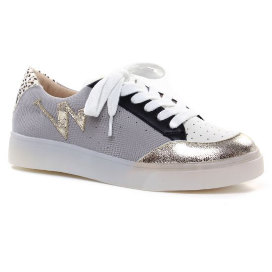 Tennis Et Baskets Mode Vanessa Wu BK 2164 Or, vue principale de la chaussure femme
