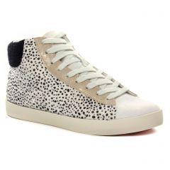 baskets-mode blanc noir: même style de chaussures en ligne pour femmes que les Tamaris
