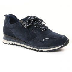 Chaussures femme hiver 2021 - baskets mode marco tozzi bleu marine