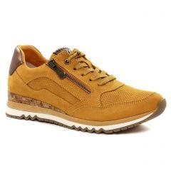 baskets-mode jaune: même style de chaussures en ligne pour femmes que les Tamaris