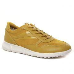 Chaussures femme hiver 2021 - baskets mode tamaris jaune