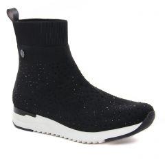 Chaussures femme hiver 2021 - baskets mode Caprice noir