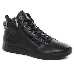 Chaussures femme hiver 2021 - baskets mode Pataugas noir