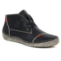 baskets-fourrees noir: même style de chaussures en ligne pour femmes que les Rieker