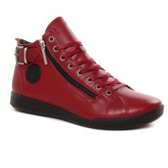 Chaussures femme hiver 2021 - baskets mode Pataugas rouge