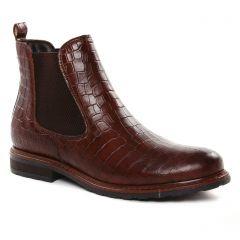 boots-chelsea marron bordeaux: même style de chaussures en ligne pour femmes que les Tamaris