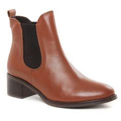 Chaussures femme hiver 2021 - boots élastiquées Scarlatine marron