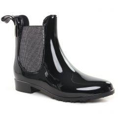 boots-chelsea noir argent: même style de chaussures en ligne pour femmes que les Les Tropéziennes