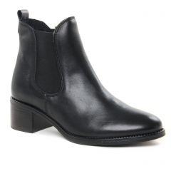 Chaussures femme hiver 2021 - boots élastiquées Scarlatine noir