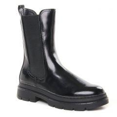 Chaussures femme hiver 2021 - boots élastiquées tamaris noir