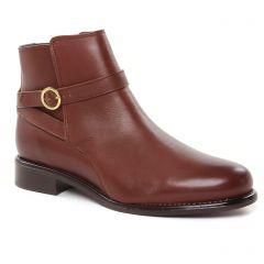 boots-jodhpur marron: même style de chaussures en ligne pour femmes que les Scarlatine