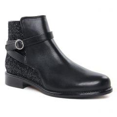 boots-jodhpur noir paillettes: même style de chaussures en ligne pour femmes que les Scarlatine