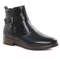boots-jodhpur noir: même style de chaussures en ligne pour femmes que les Tamaris