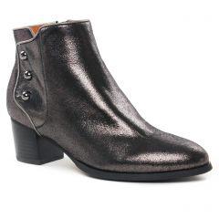 boots gris métal: même style de chaussures en ligne pour femmes que les Mamzelle