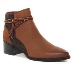Chaussures femme hiver 2021 - boots talon fugitive marron